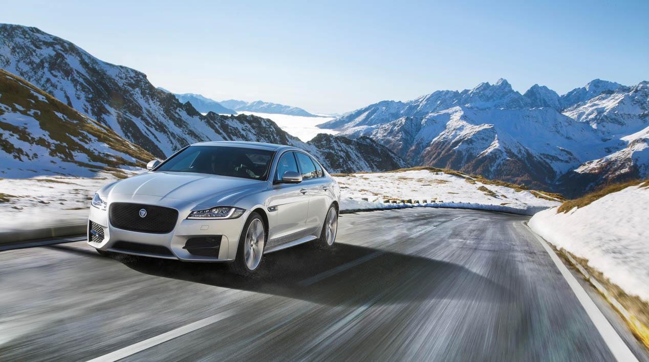 Jaguar XF, nuevas versiones de tracción total
