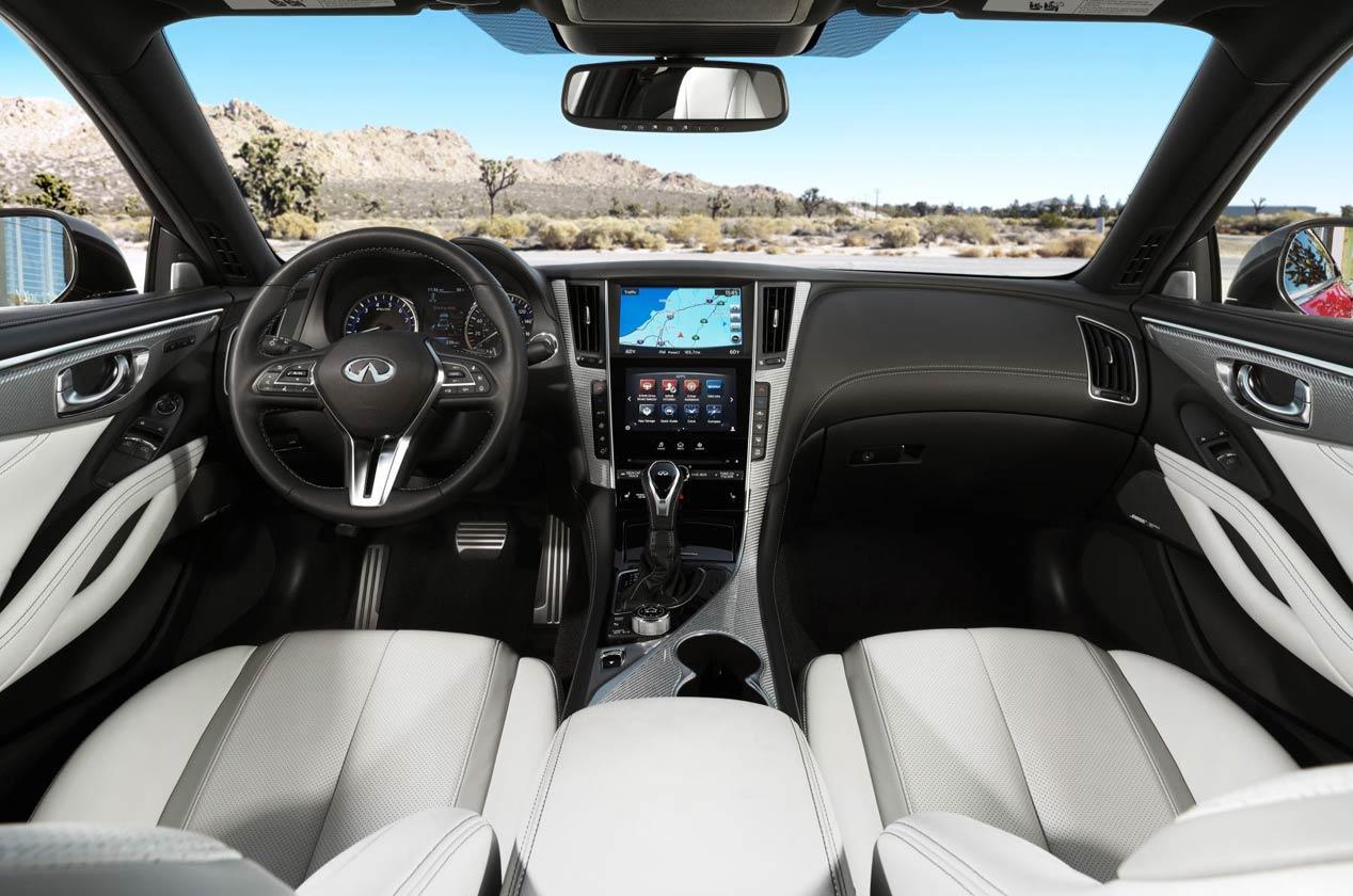 Infiniti Q60, el nuevo coupé deportivo japonés