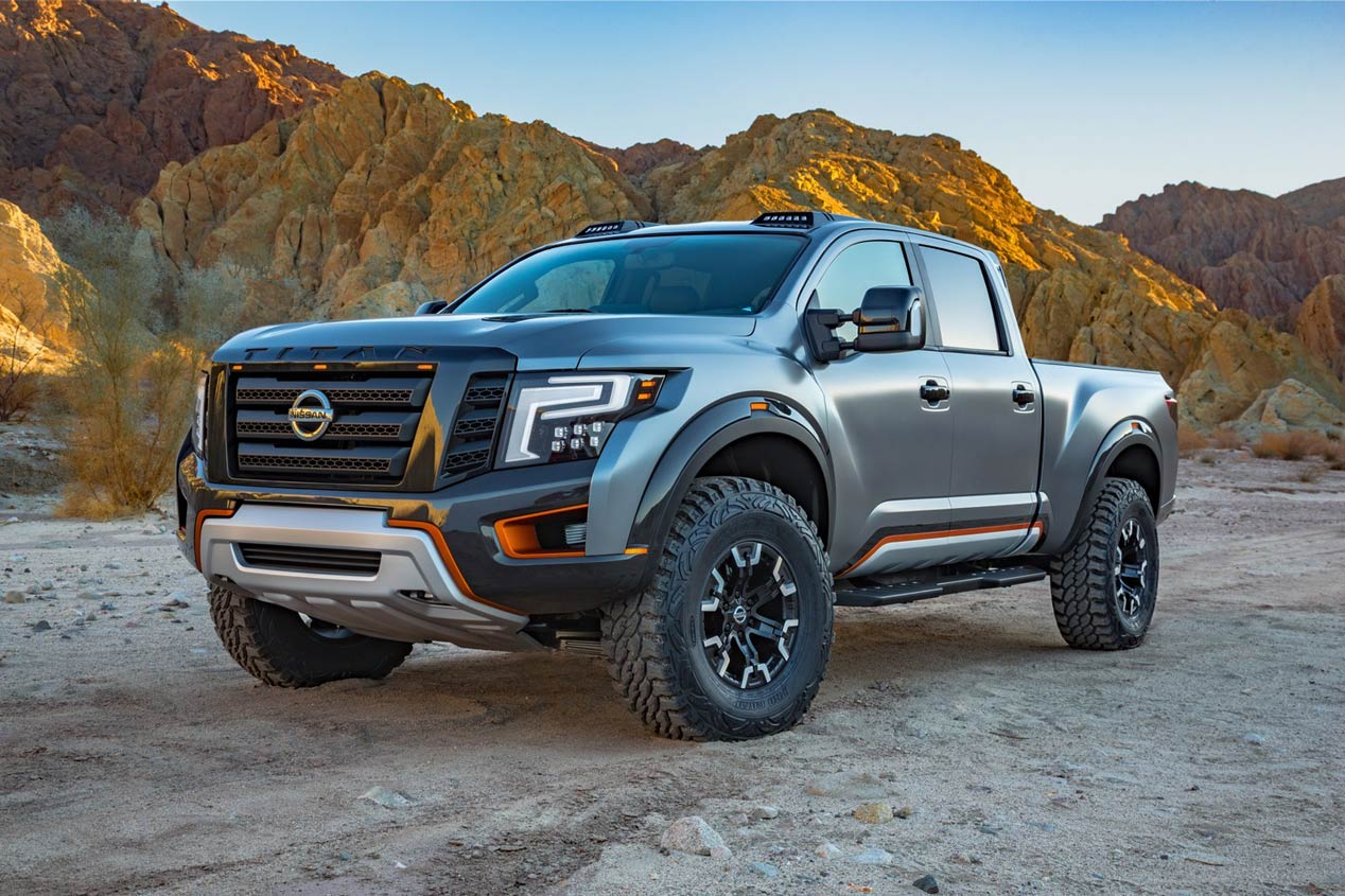 Nissan Titan Warrior Concept, un pick-up radical