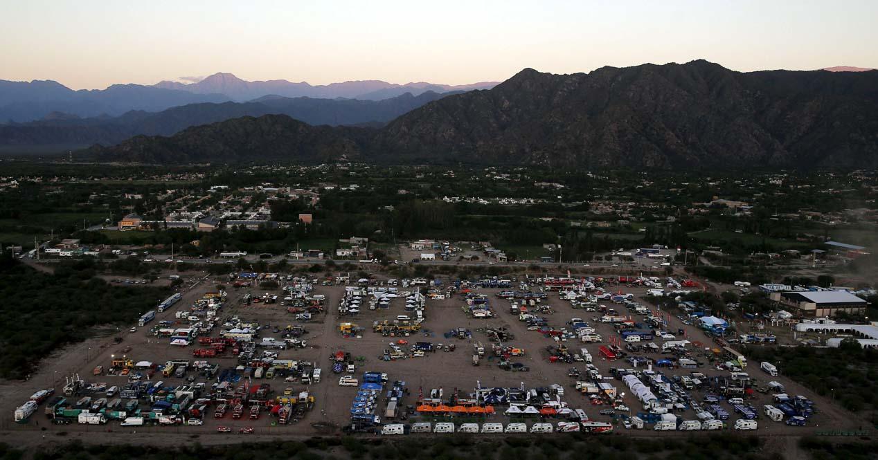 Las mejores imágenes del Dakar 2016: novena etapa