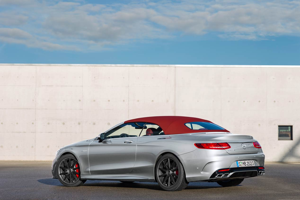 Mercedes-AMG S63 Cabriolet Edition 130
