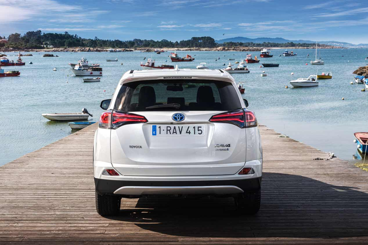 Toyota RAV4 híbrido, a prueba
