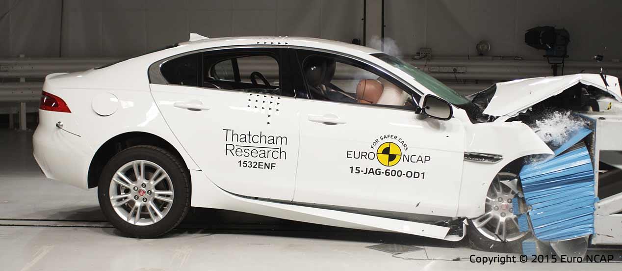 EuroNCAP elige los coches más seguros por categorías en 2015