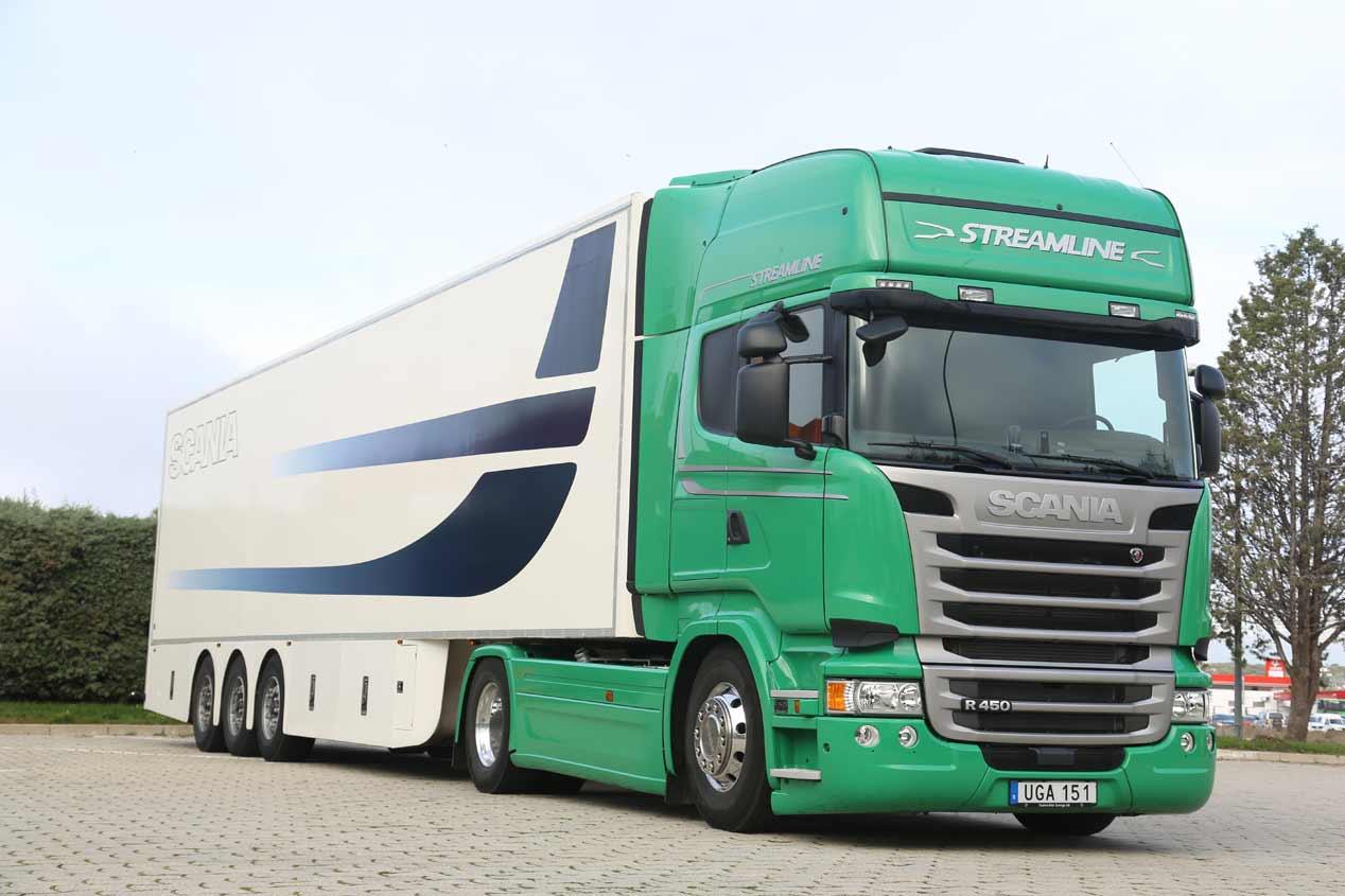 Las tractoras son los camiones más vendidos en España