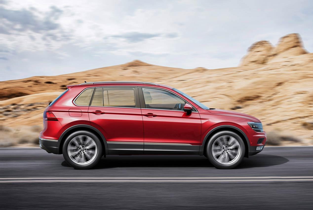 El Volkswagen Tiguan llegará a España en mayo