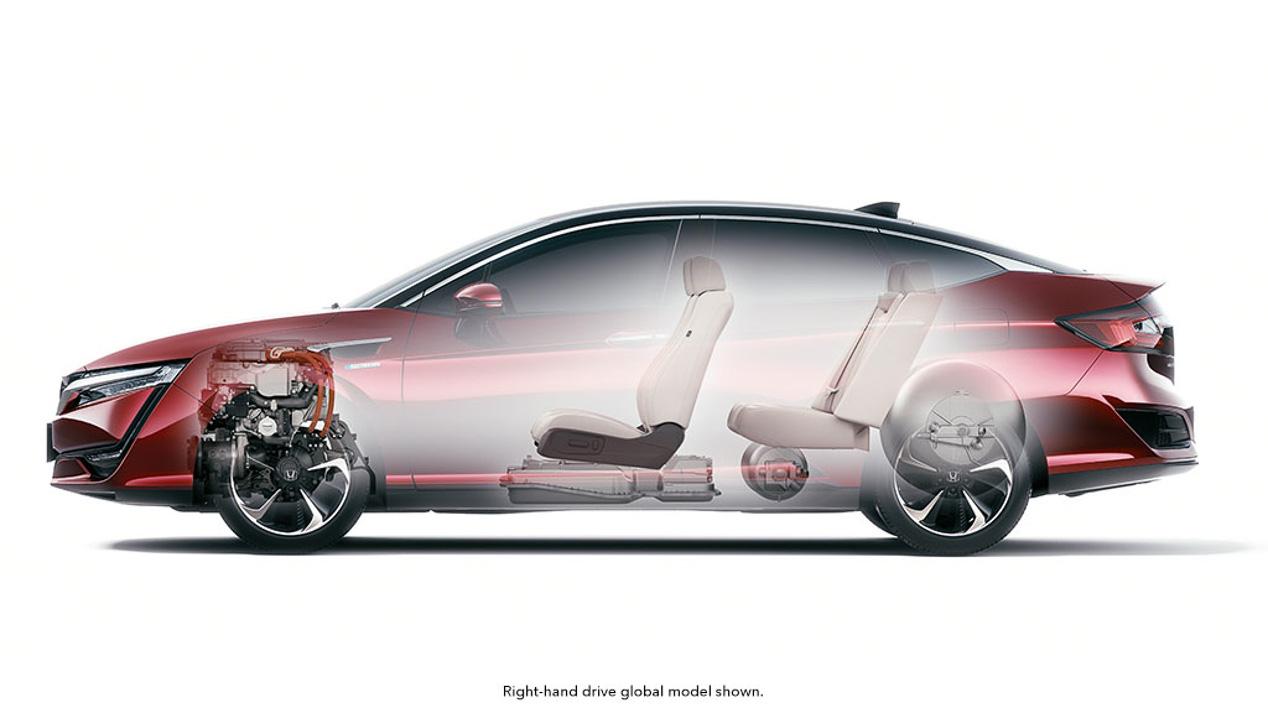 Honda Clarity Fuel Cell, todas las novedades