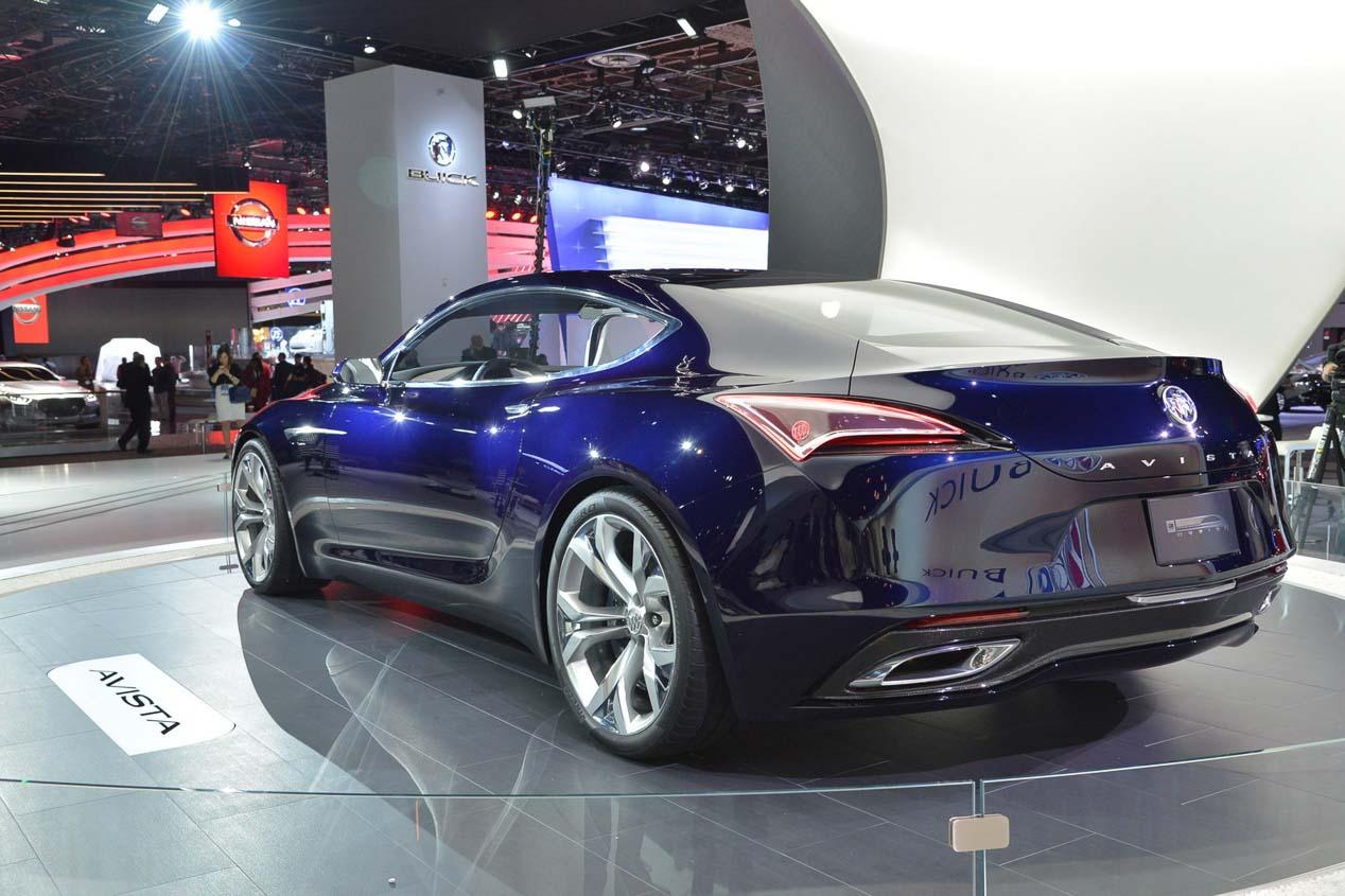 Buick Avista ¿Anticipo de un nuevo Opel Calibra?
