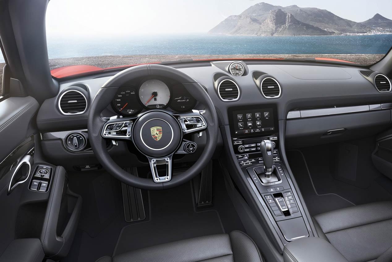 Porsche 718 Boxster, vuelta a los 4 cilindros bóxer