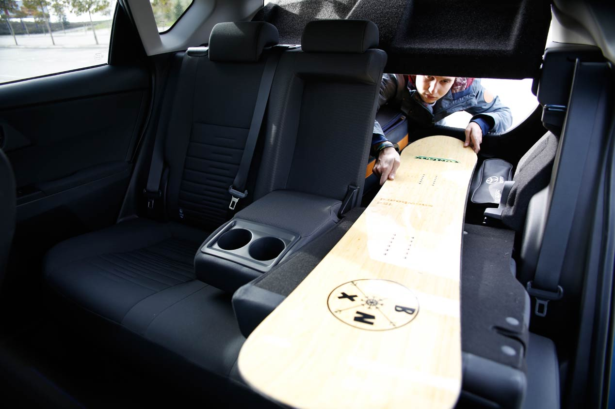 Toyota Auris Hybrid: con tablas y a lo loco
