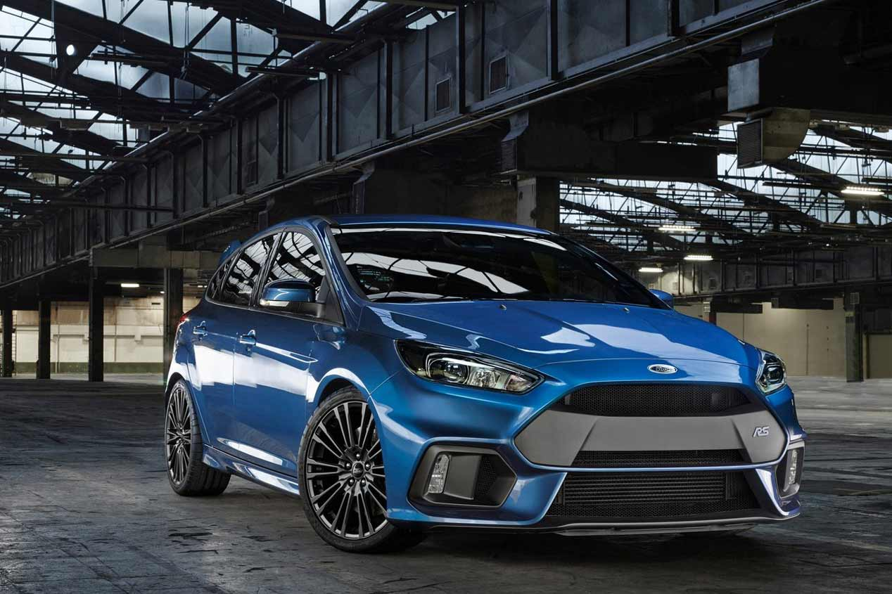 El Ford Focus RS 2016, a prueba