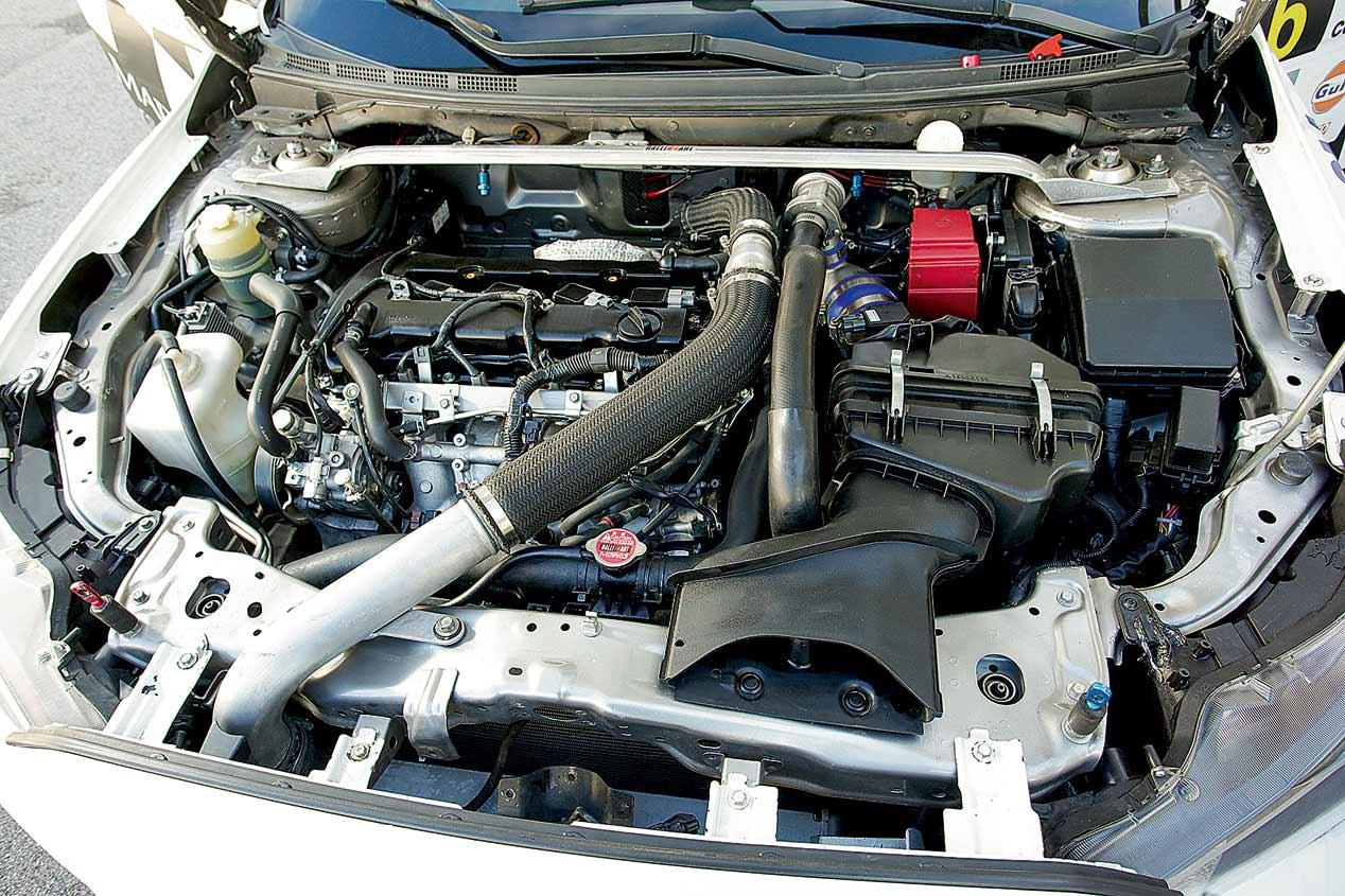 El Mitsubishi EVO X Grupo N, a prueba