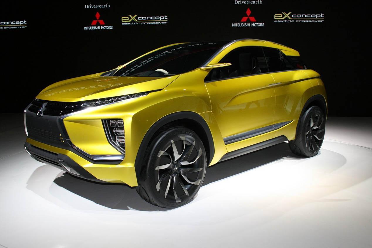 Mitsubishi en el Salón del Automóvil de Ginebra 2016