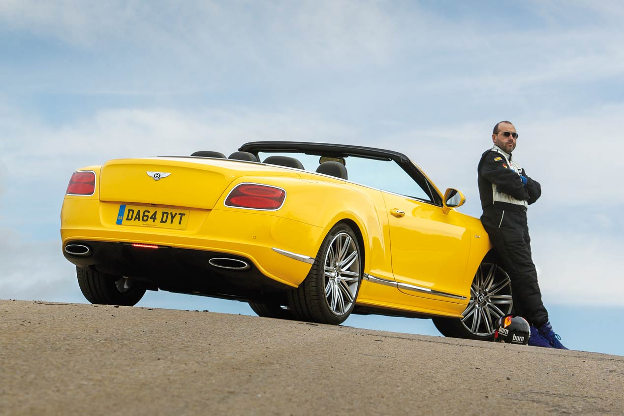 Bentley Continental GTC Speed, a prueba