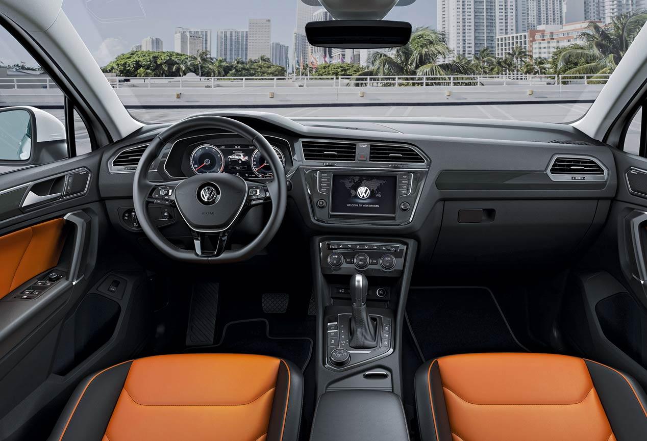 Los tres SUV del grupo Volkswagen: Seat Ateca, Skoda Vision S y VW Tiguan
