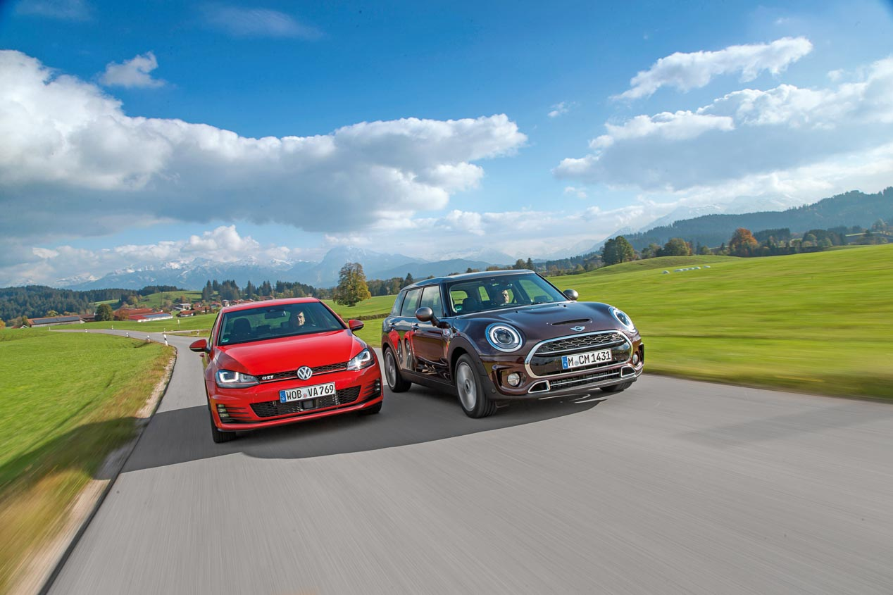 Mini Clubman Cooper S vs VW Golf GTI
