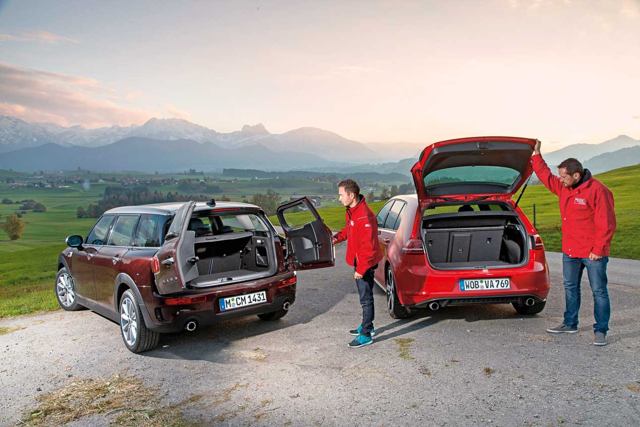 Mini Clubman Cooper S y Volkswagen Golf GTI, ¿qué deportivo es mejor?