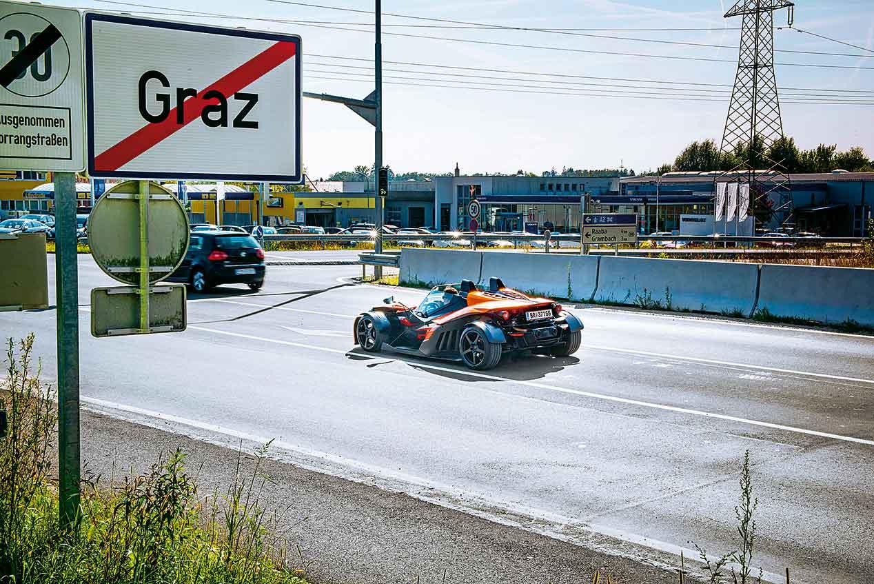 KTM X-BOW GT: por tortuosas carreteras croatas