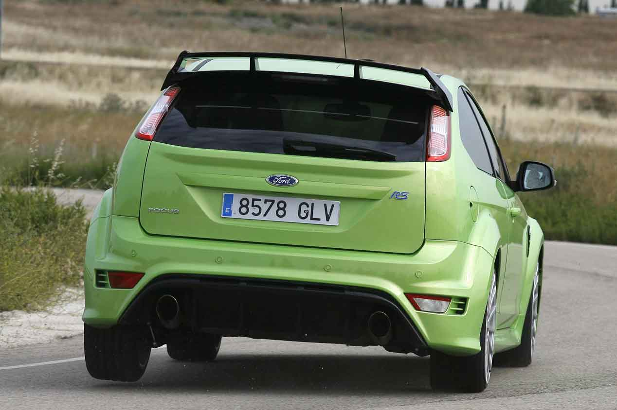 Ford Focus RS 2009, segunda generación