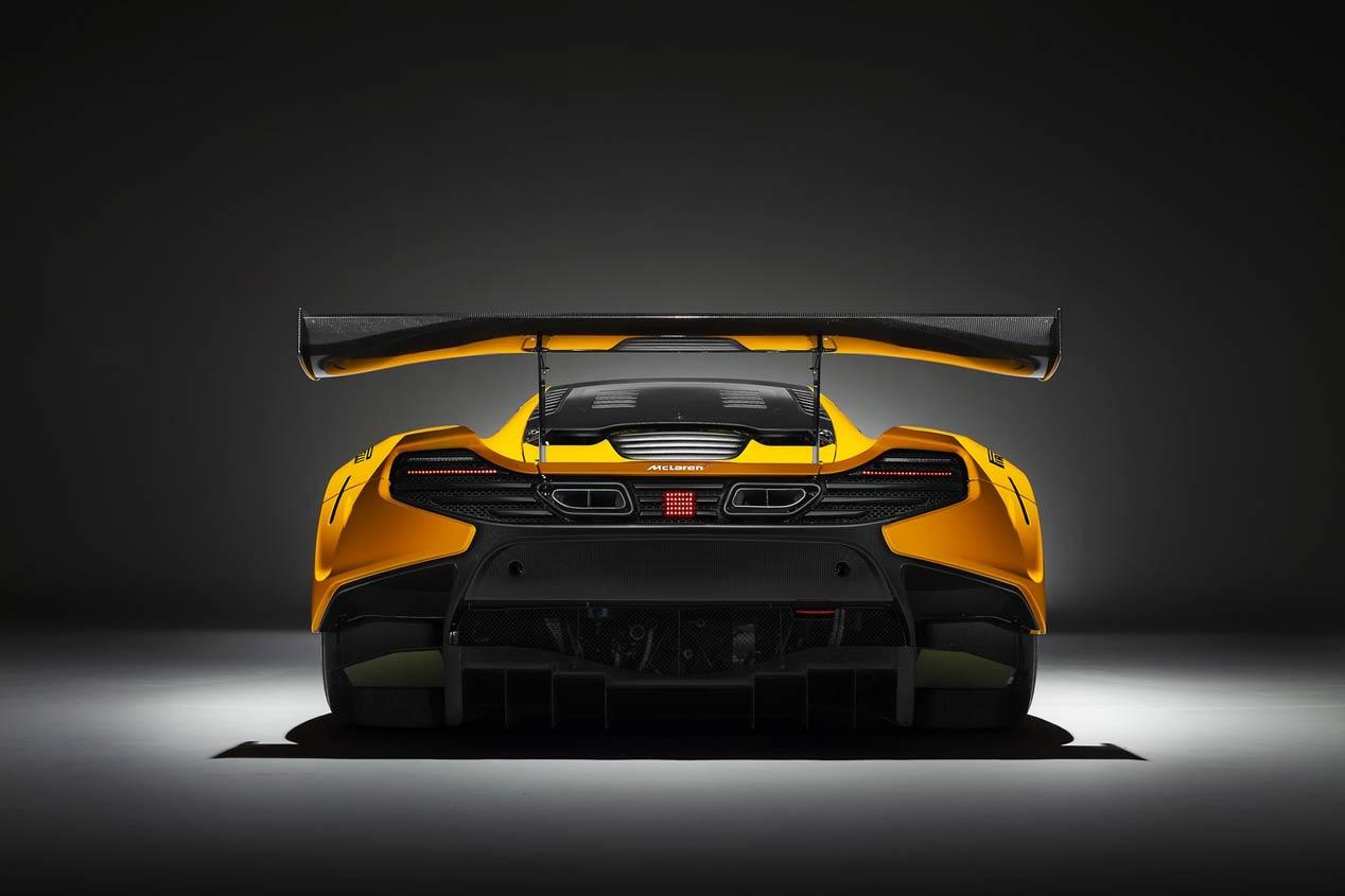 McLaren 650S GT3 2016, más madera para circuitos