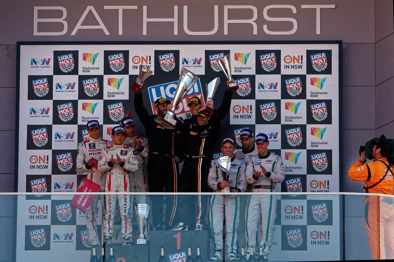 De carreras: Fórmula E y 12 Horas de Bathurst (8 de febrero)