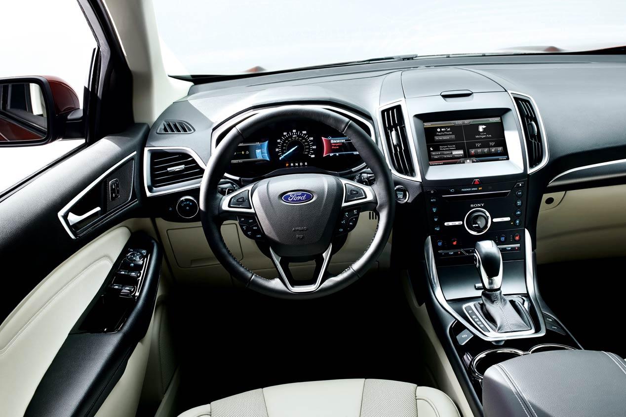 El Ford Edge 2016, a prueba