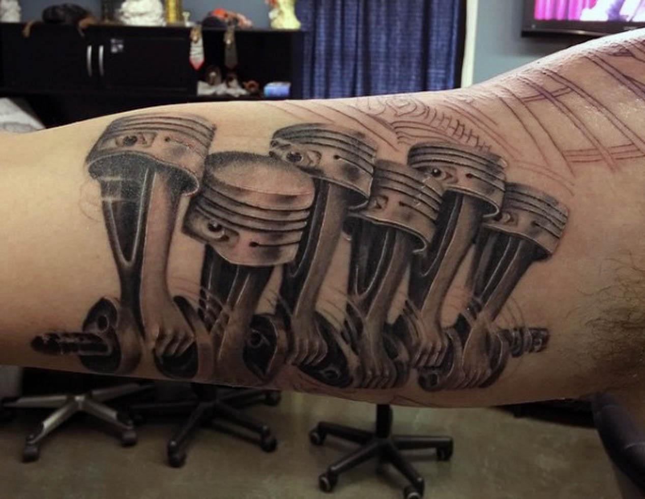 Los Mejores Tatuajes De Coches Arte Y Decoración Autopistaes