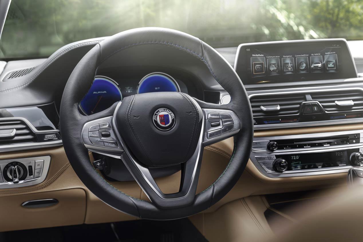 BMW Alpina B7 xDrive, brutalidad alemana