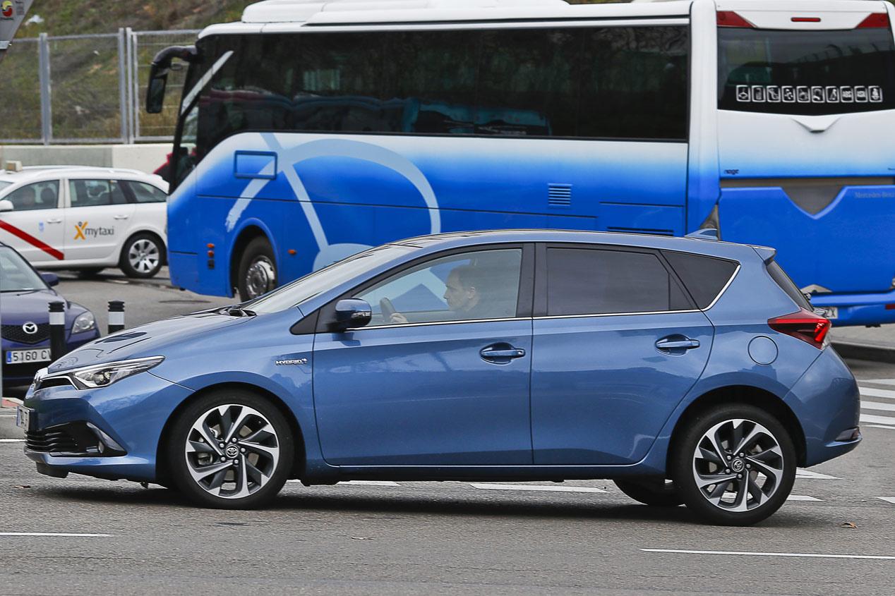 Frenado de emergencia PCS del Toyota Auris Hybrid