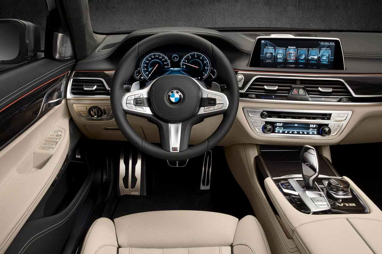 BMW M760Li xDrive, potencia a raudales