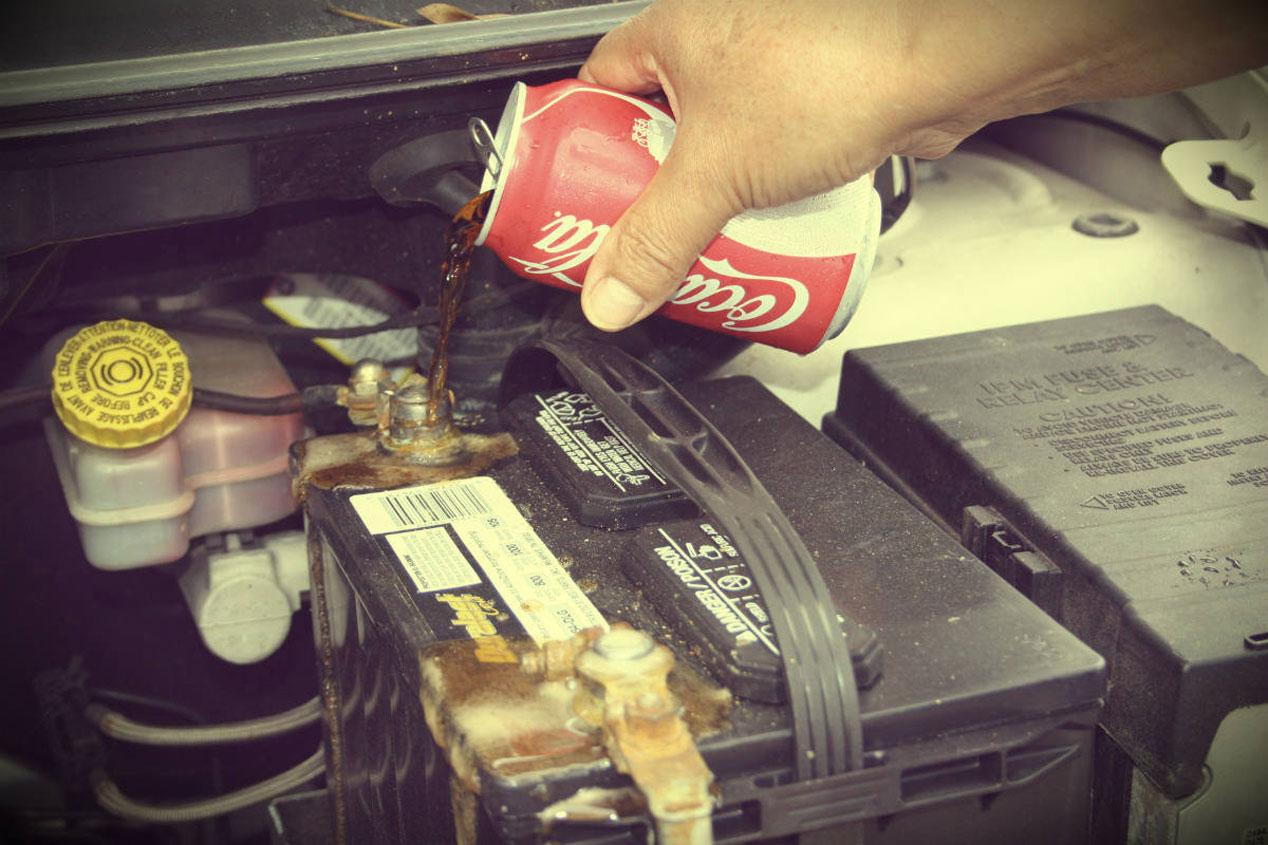 Cocacola para la batería