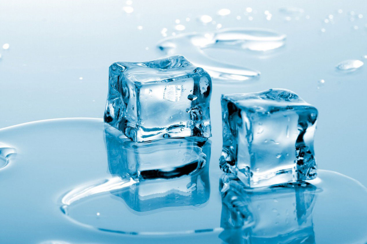Hielo para quitar chicles
