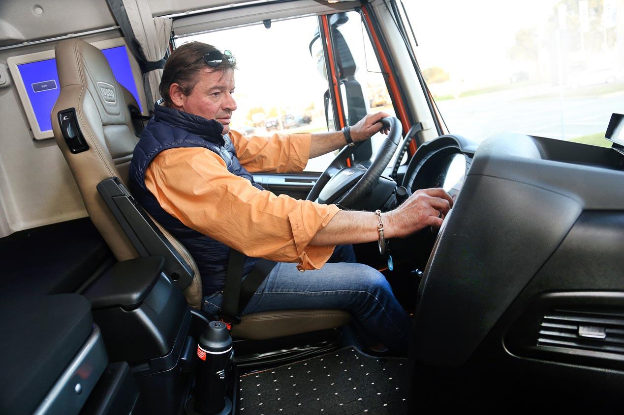 Iveco Stralis: así es el único camión español