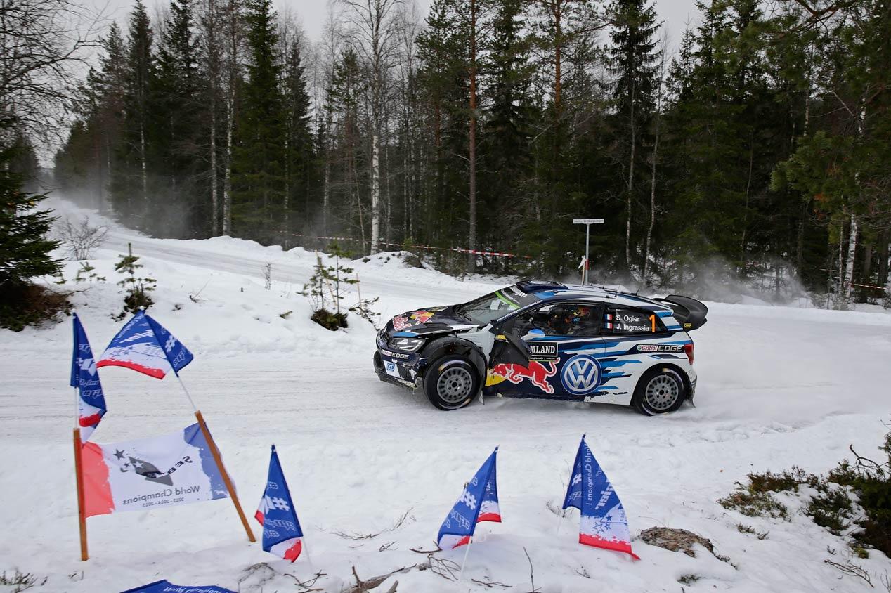 Rallye de Suecia 2016: Ogier, líder de principio a fin