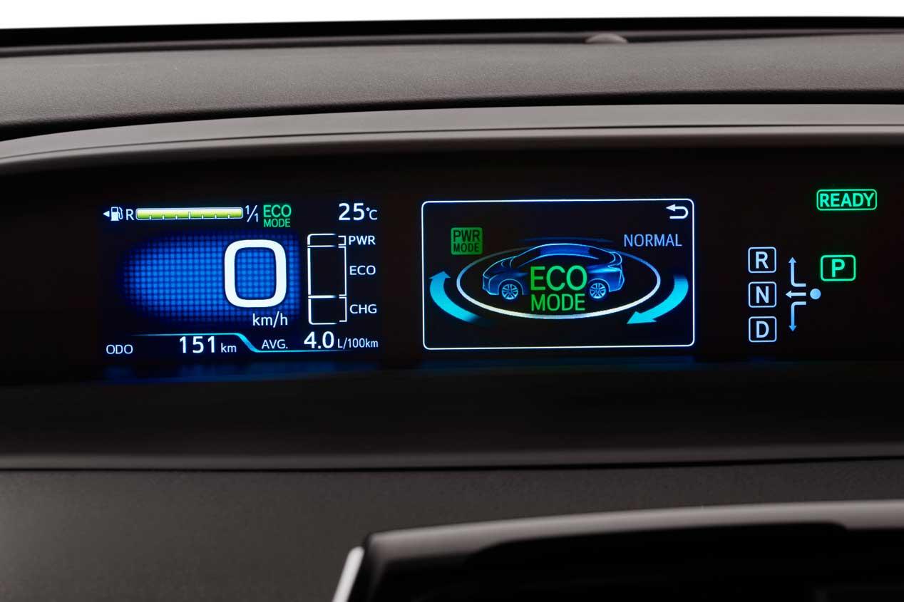 Toyota Prius IV, fotos de nuestra prueba