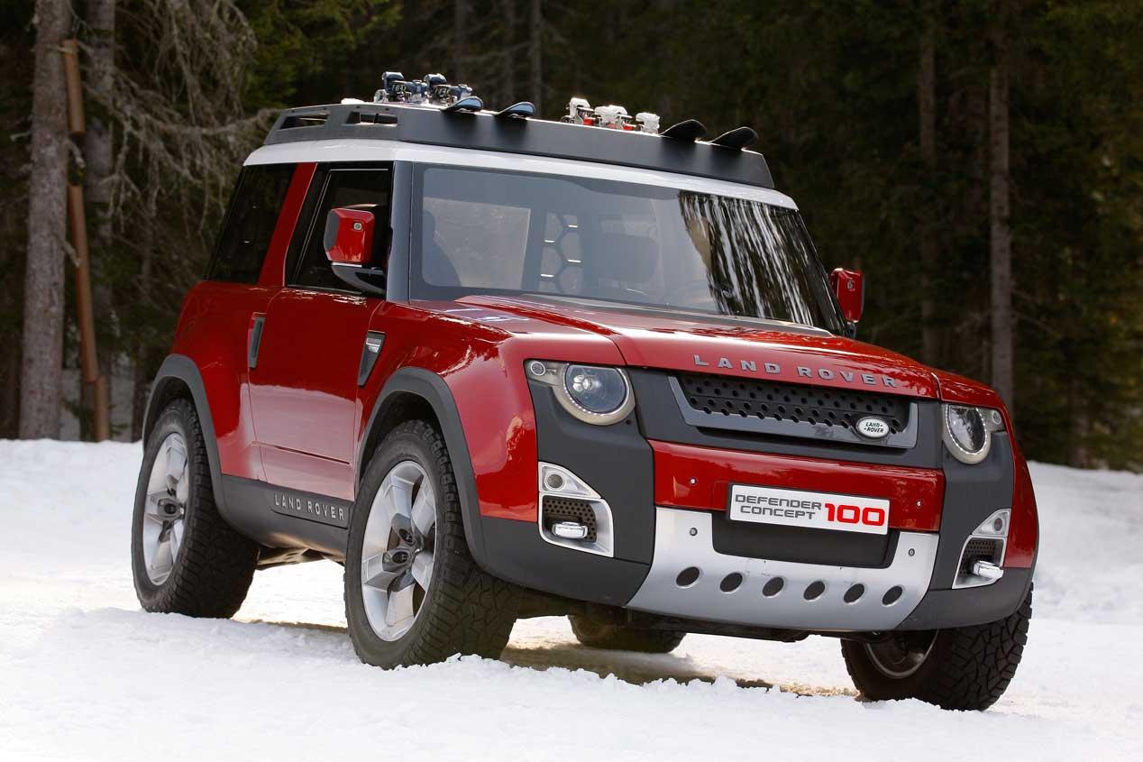 El Nuevo Land Rover Defender Listo En 2018 Autopista Es