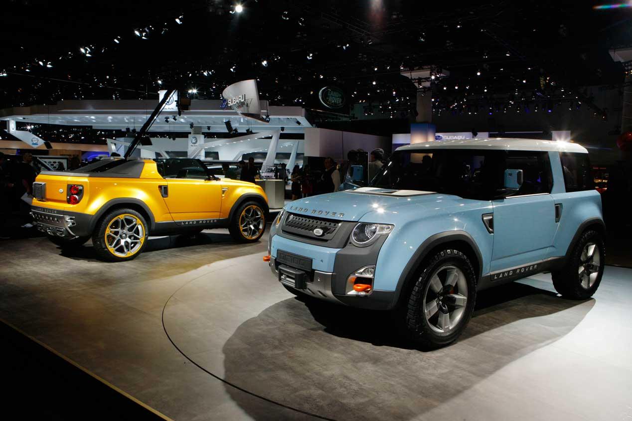 New Land Rover 2018 >> Galería | land-rover-defender-2018-imagenes | Autopista