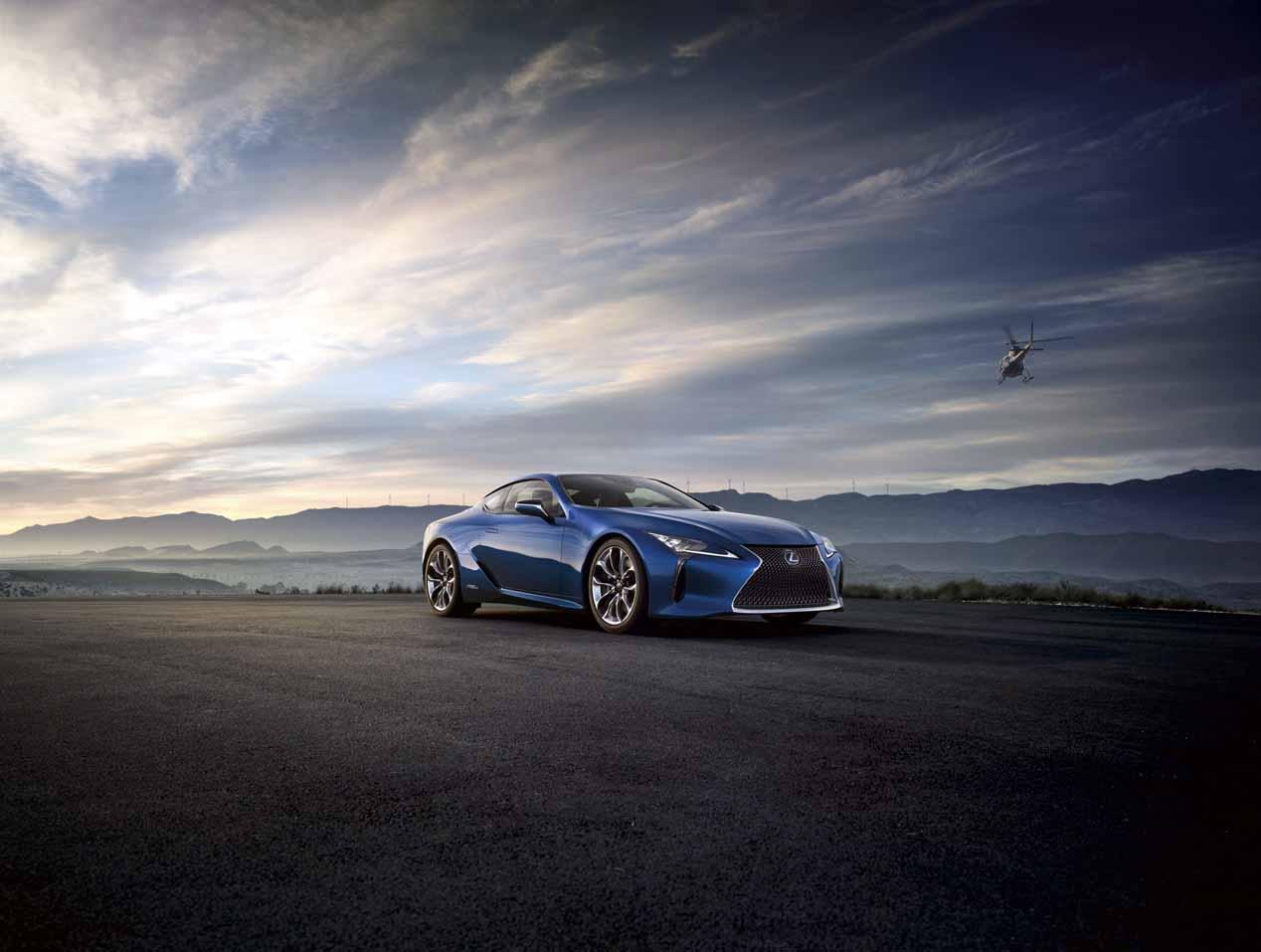 Lexus LC 500h: espectacular deportivo híbrido