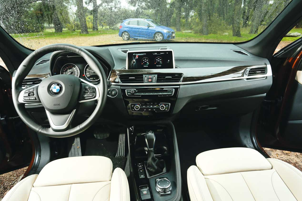 Fotos comparativa BMW X1 y Active Tourer
