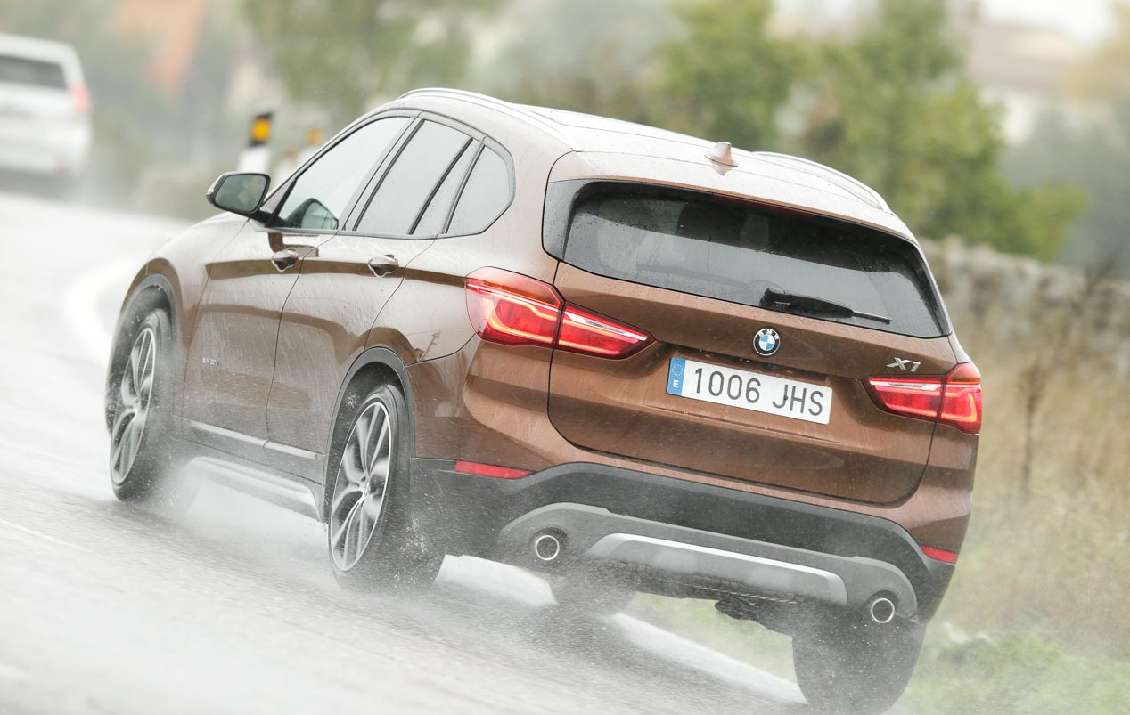 Fotos comparativa BMW X1 y Active Tourer