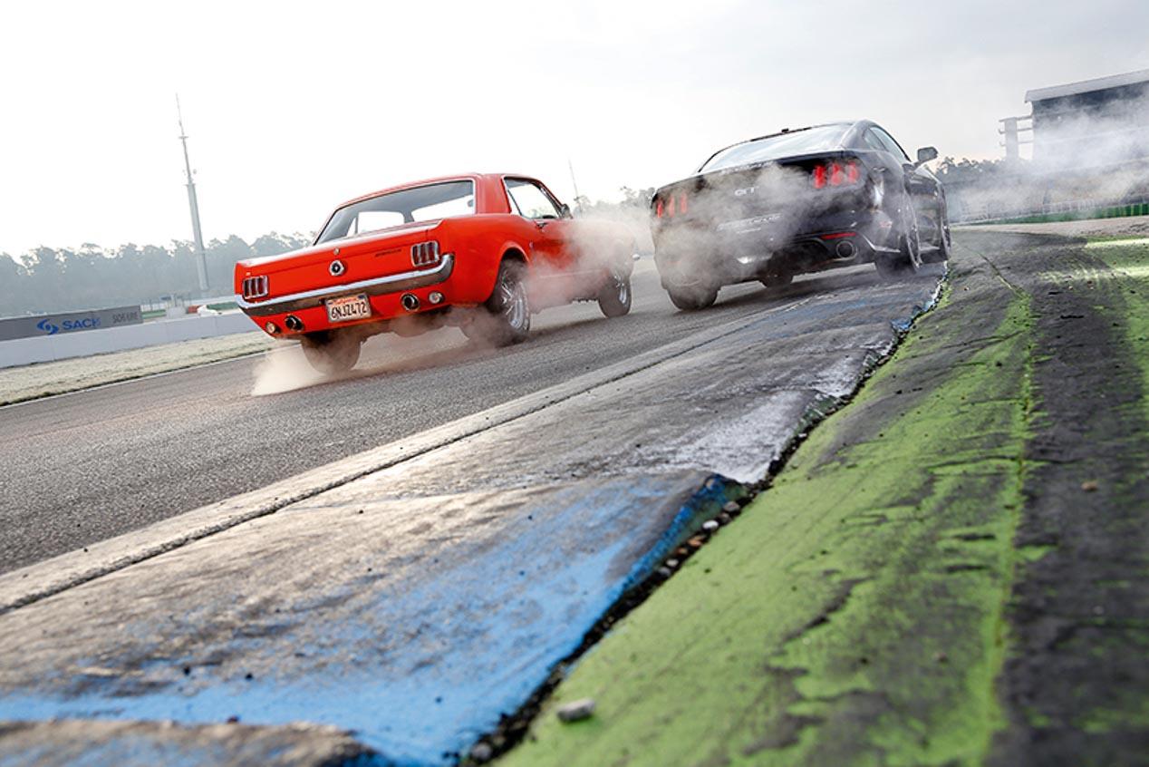 Ford Mustang 289 Hardtop y GT Fastback: 50 años de historia
