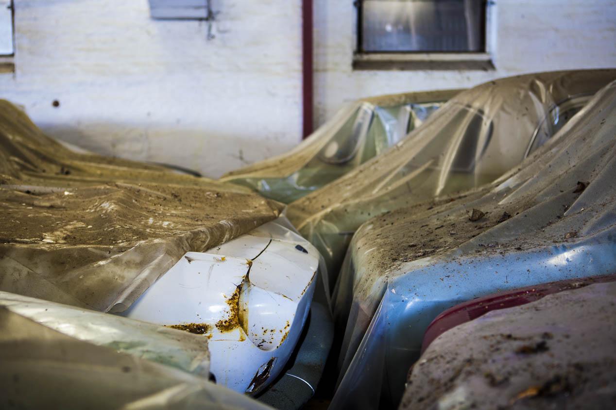 Encontrados coches clásicos Renault en granja danesa