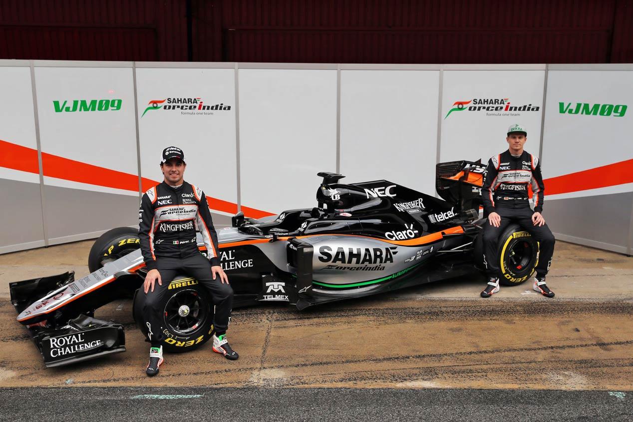 Los monoplazas para la Fórmula 1 2016