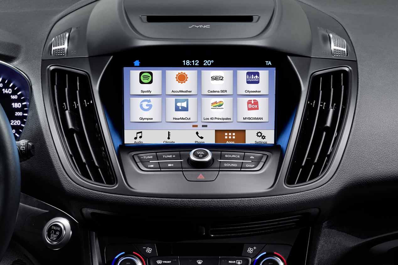 Llega Sync 3, la nueva plataforma de conectividad de Ford