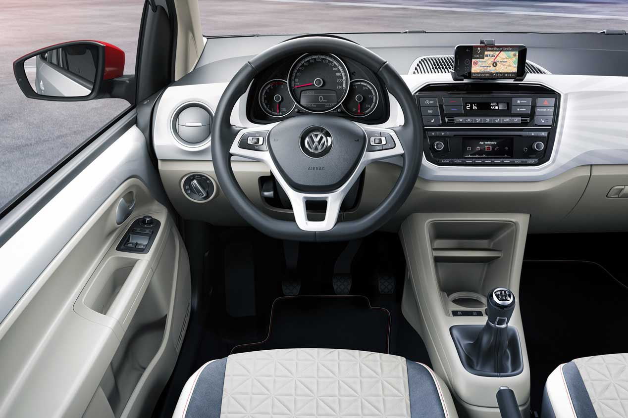 Volkswagen Up! 2016, primeras fotos