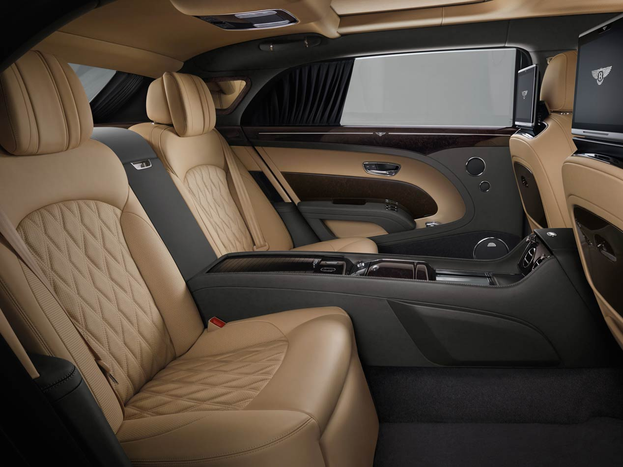 Bentley Mulsanne 2017, novedades en la berlina británica