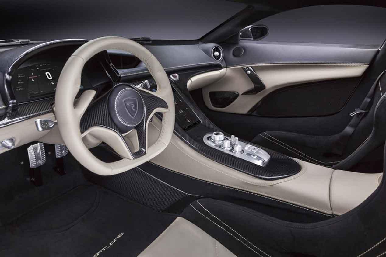 Rimac Concept One: el superdeportivo eléctrico que pasa de 0 a 100 en 2,6 segundos