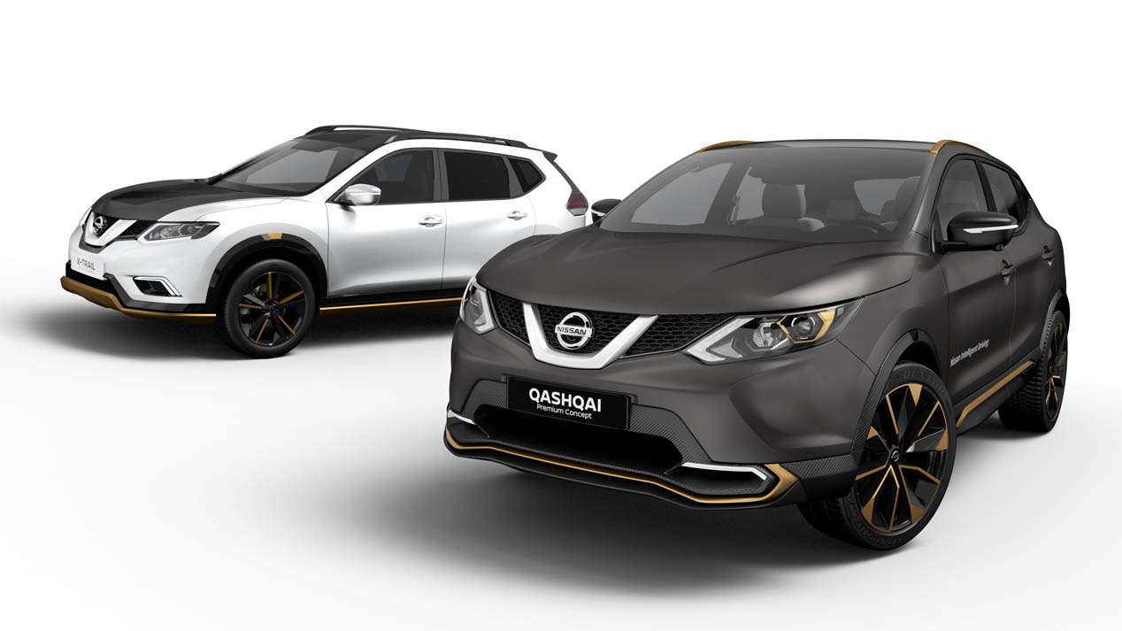 Nissan Qashqai Premium Concept y Nissan X-Trail Premium Concept