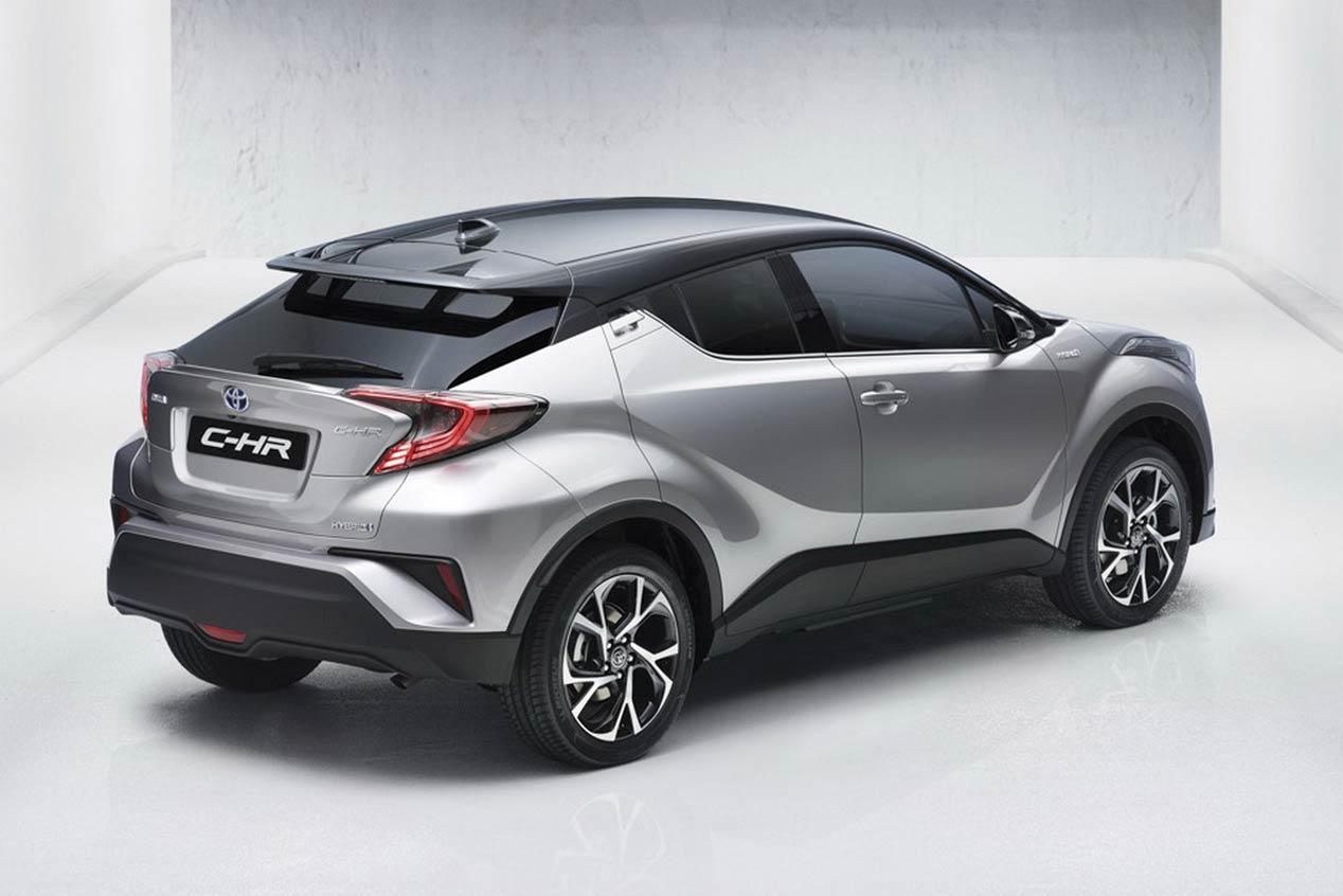 Toyota C-HR, primeras imágenes del coche definitivo