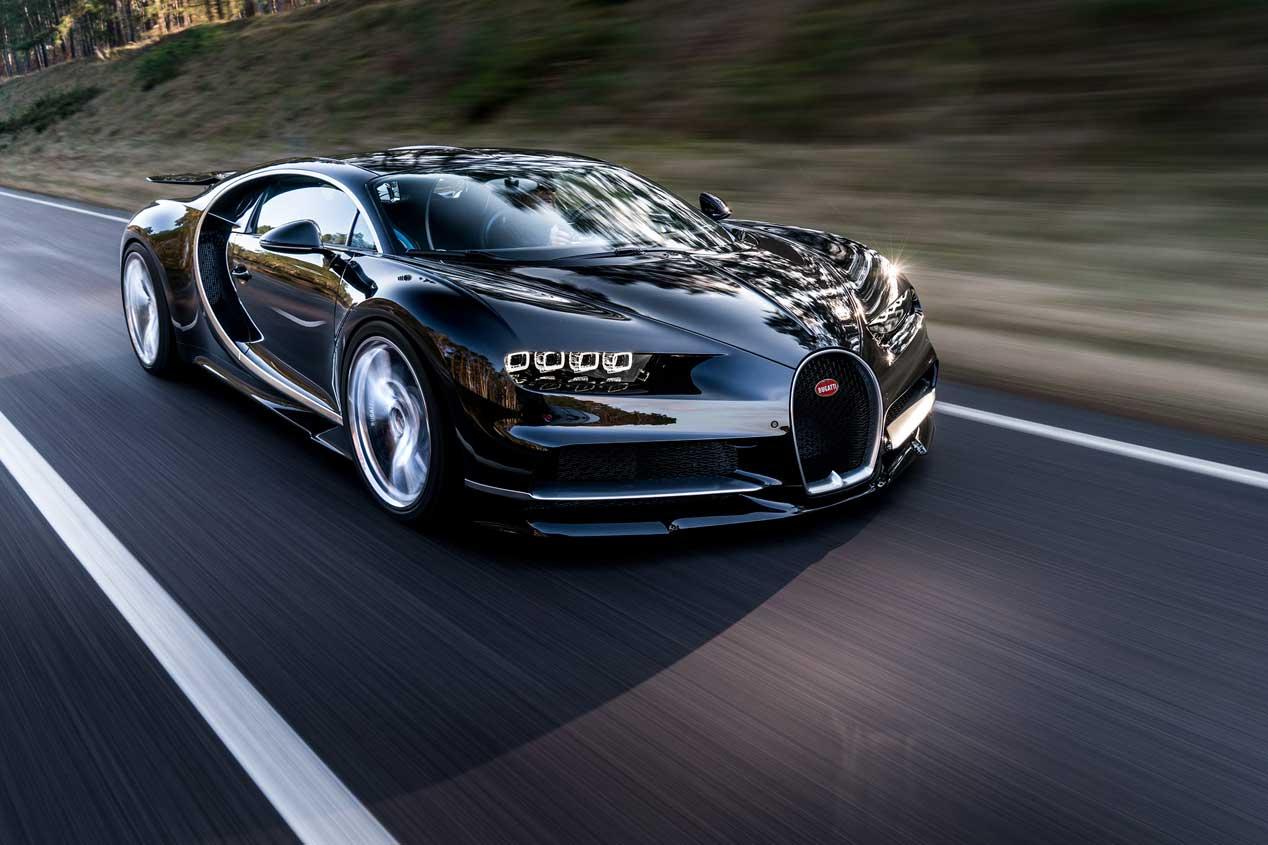 Bugatti Chiron, las fotos oficiales
