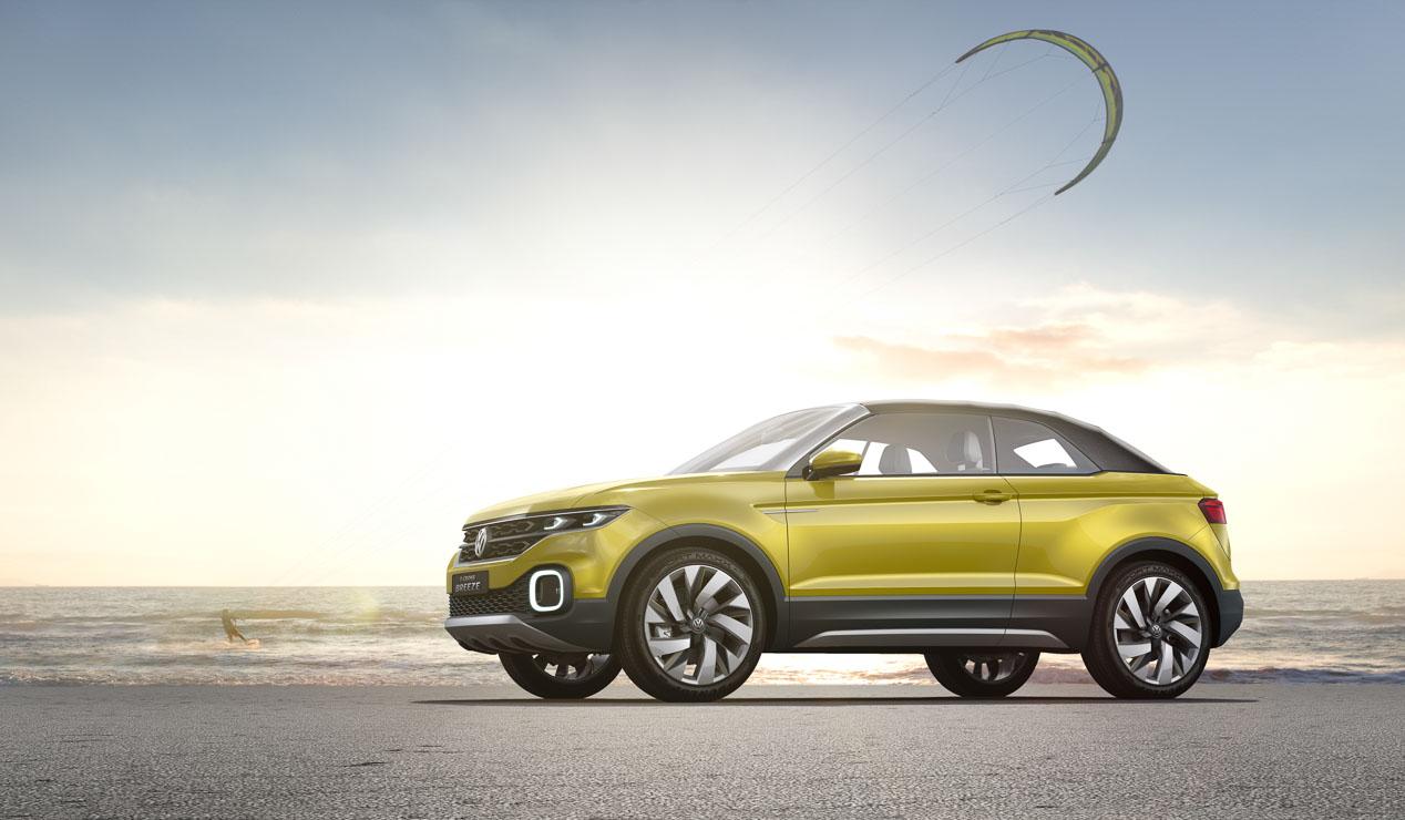 El Volkswagen T-Cross Breeze, en imágenes